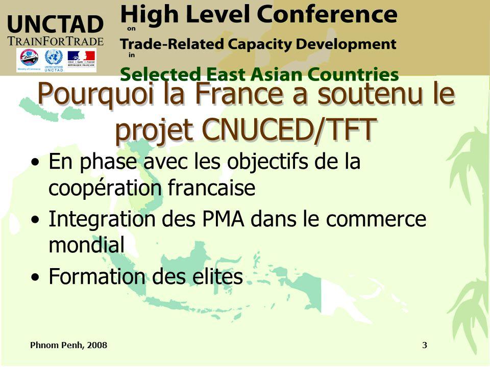 Phnom Penh, 20084 La politique d'appui : les objectifs Visibilité des actions Renforcement de l'interministérialité Cohérence avec objectifs de la coopération française au Cambodge et Laos