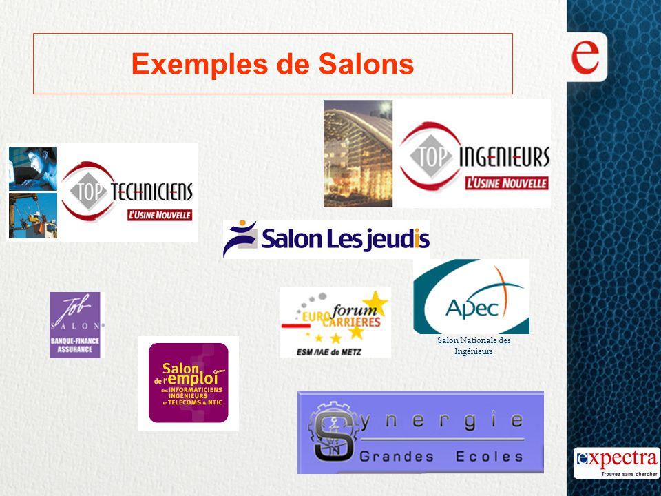 Exemples de Salons Salon Nationale des Ingénieurs