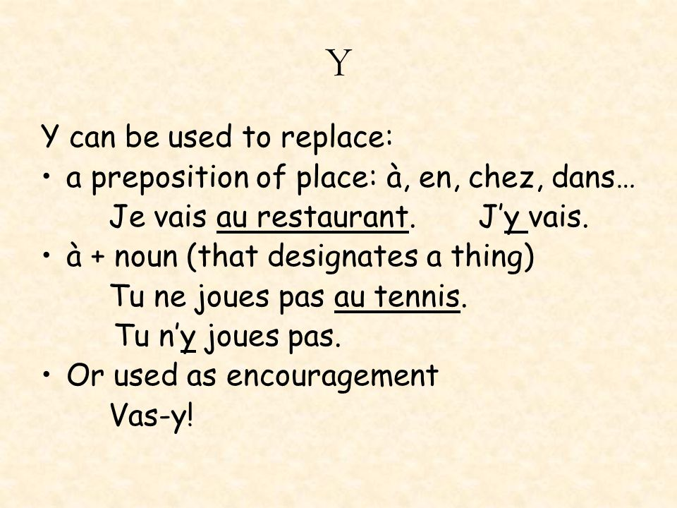 En En can be used to replace: a partitive article Tu veux du lait?Tu en veux.