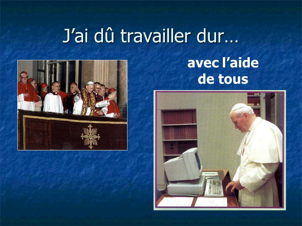 Un jour, j ai été élu Pape et ensuite ma vie, et peut-être la vôtre, a changé..