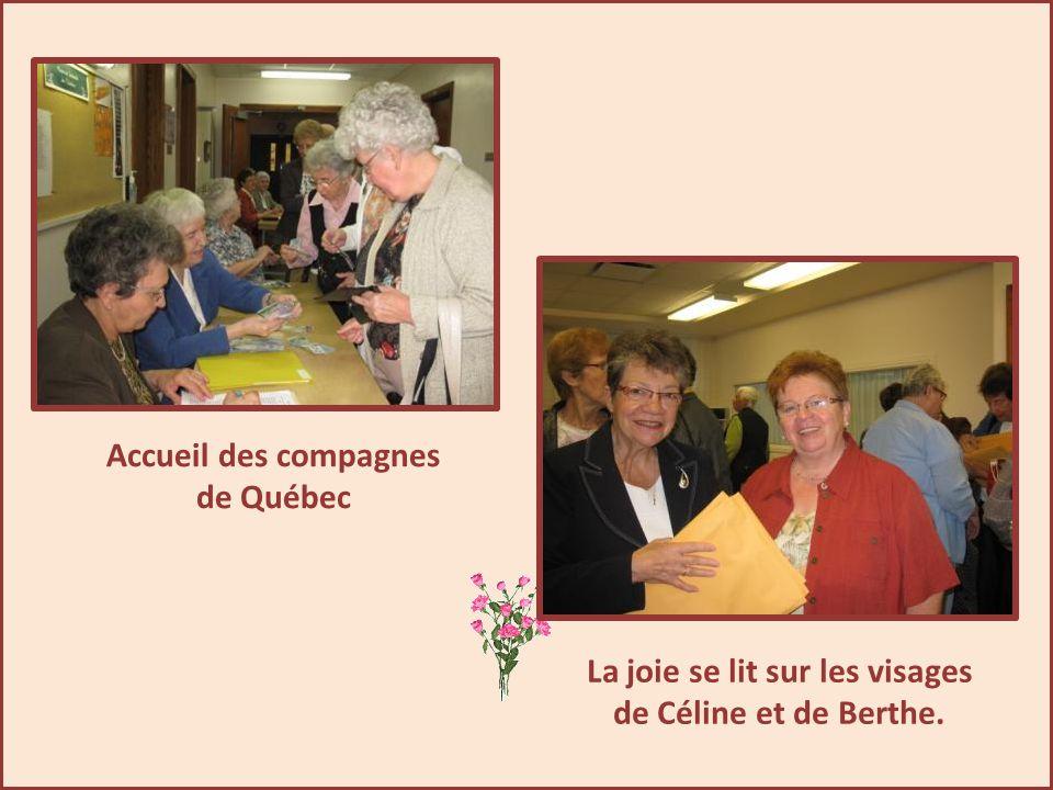 En route vers l'Assemblée Régionale Amérique du Nord Est Présentation le 25 septembre 2011 chez les Ursulines à Loretteville.