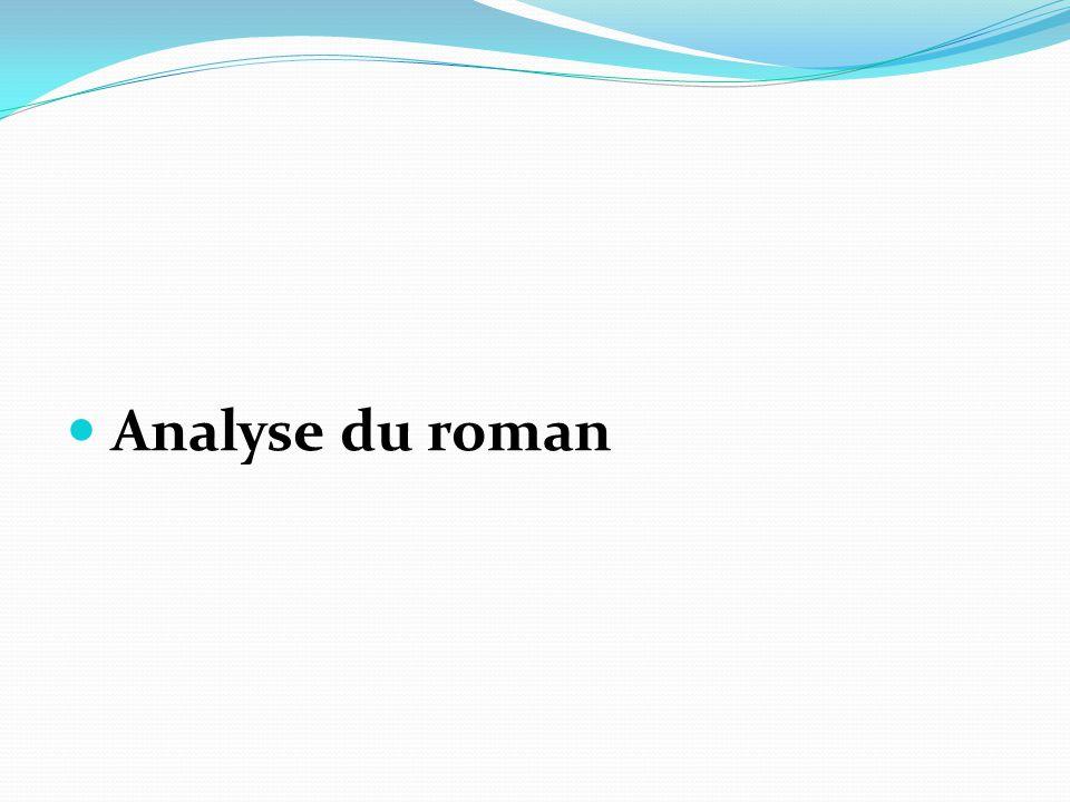 Analyse du roman
