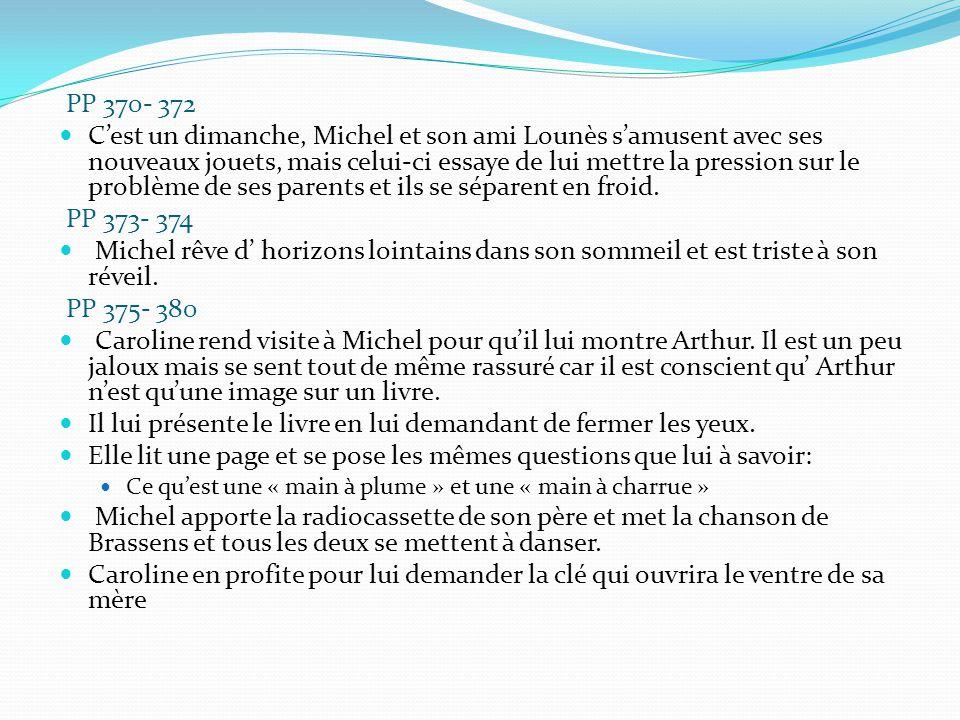PP 370- 372 C'est un dimanche, Michel et son ami Lounès s'amusent avec ses nouveaux jouets, mais celui-ci essaye de lui mettre la pression sur le prob