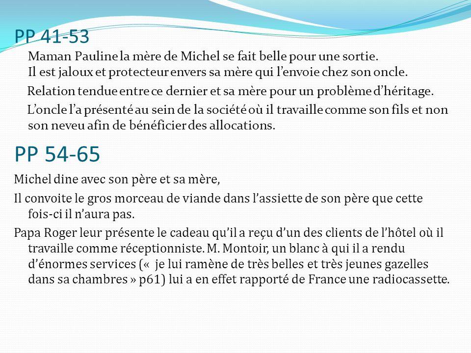 PP 168- 172 Michel découvre un livre de Rimbaud dans la bibliothèque de son père.