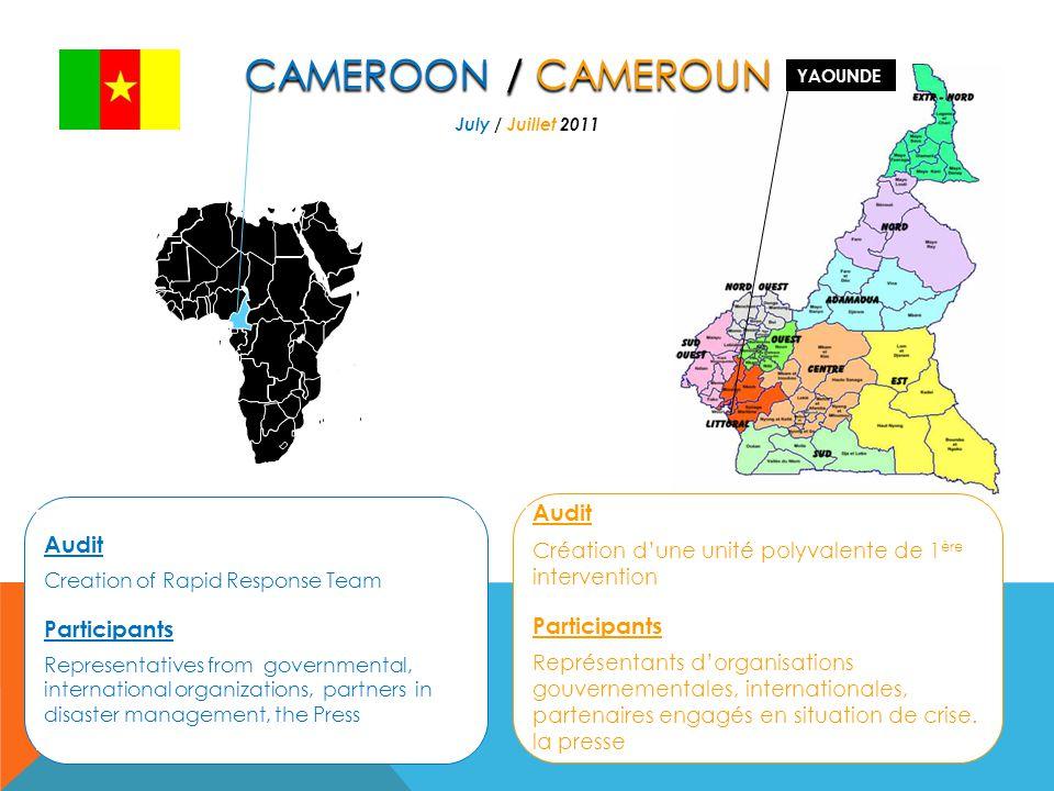 Audit Risks analysis, strategies of operational capacity of the Civil Protection General Directorate of Capital City of Bujumbura.