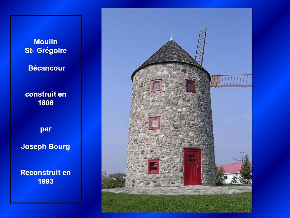 Moulin Antoine-Jetté Repentigny Construit en 1823