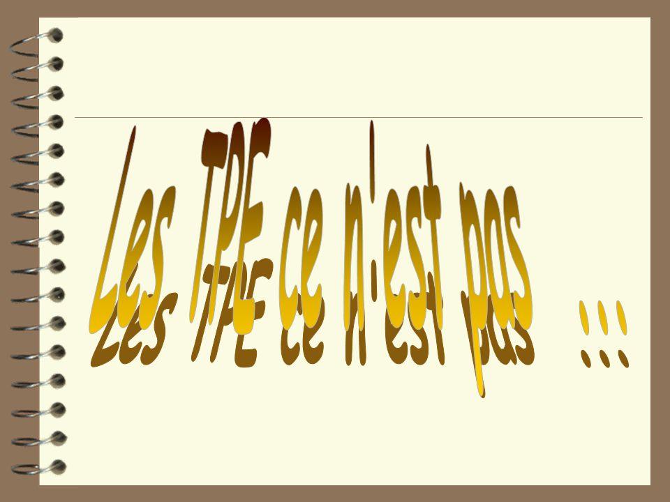 Évaluation 4 Présentation orale –Construction de l'exposé –Argumentation et justification des choix –Réactivité face aux questions –Richesse des connaissances mises en jeu