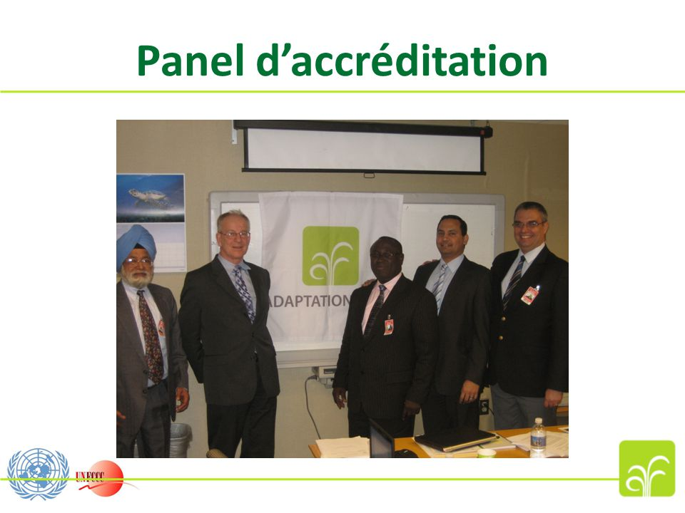 Panel d'accréditation