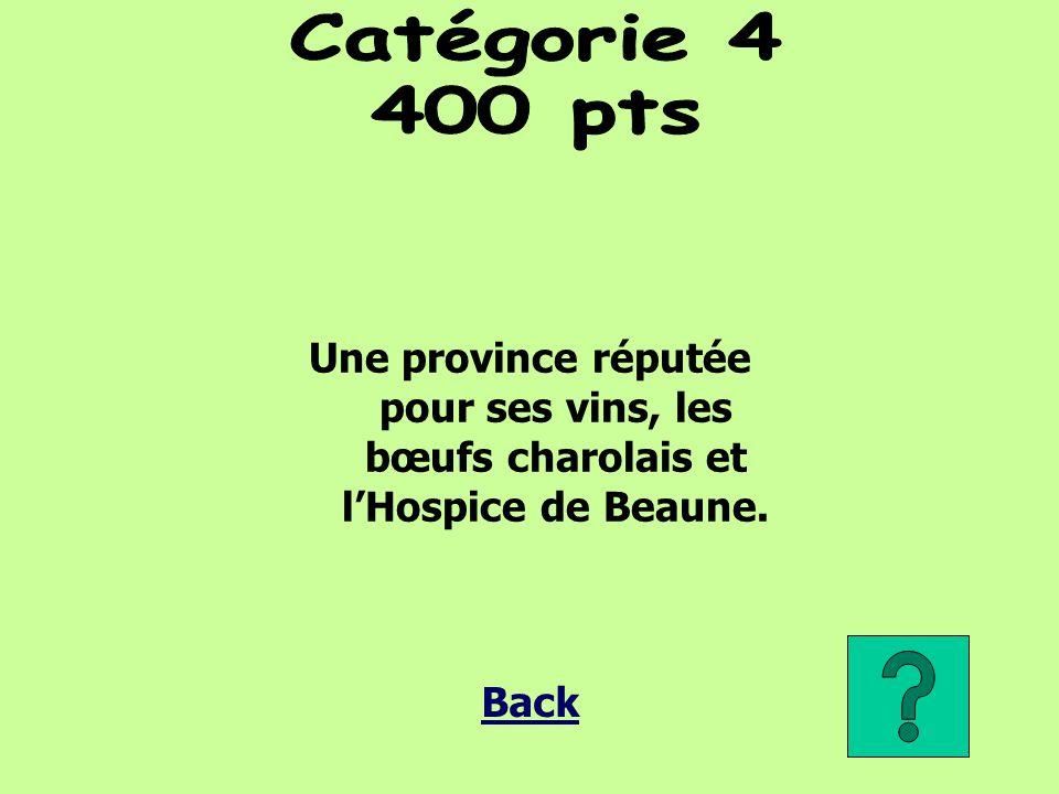 Une province réputée pour ses vins, les bœufs charolais et l'Hospice de Beaune.