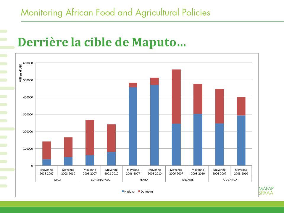 Derrière la cible de Maputo…