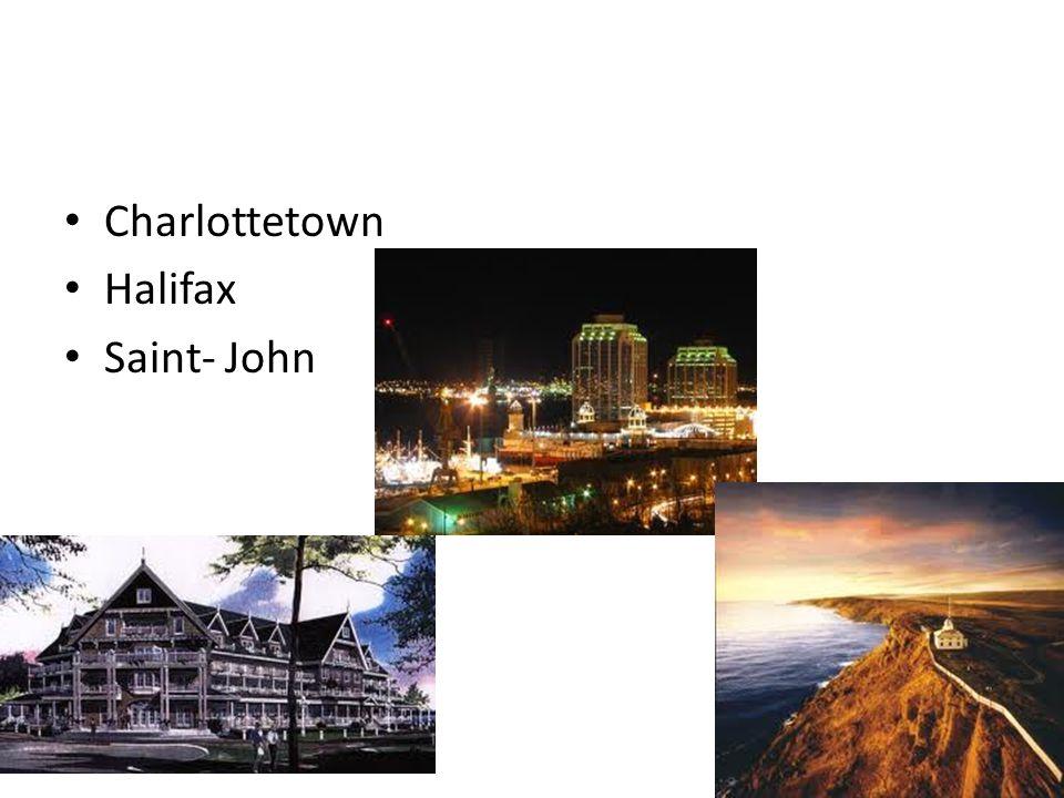 Charlottetown Halifax Saint- John