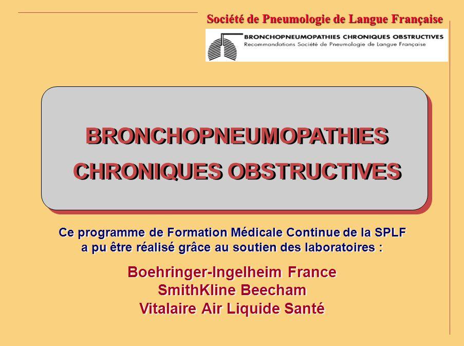 1 1 2 2 3 3 4 4 5 5 Concernant la bronchite chronique et son bilan, quelles sont les propositions vraies .