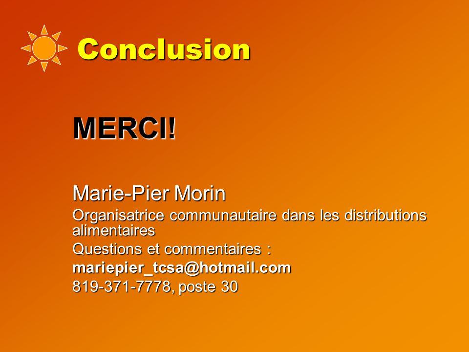Conclusion MERCI. MERCI.