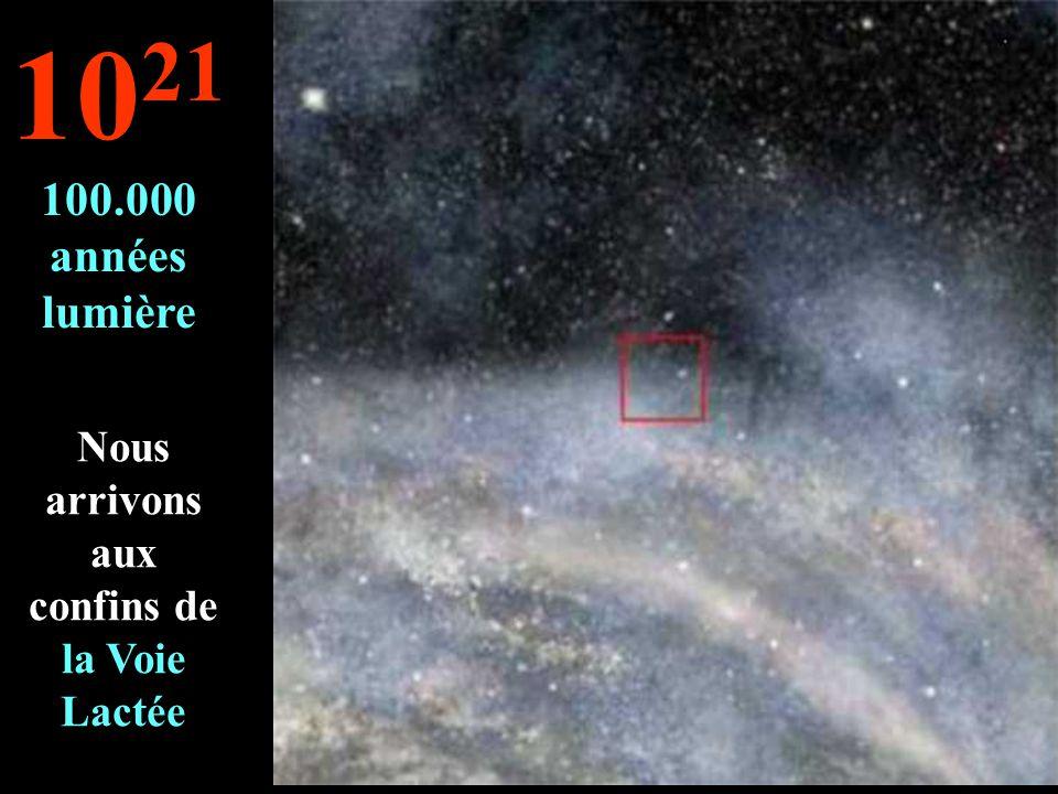 On continue notre voyage dans la Voie Lactée 10 20 10.000 années lumière