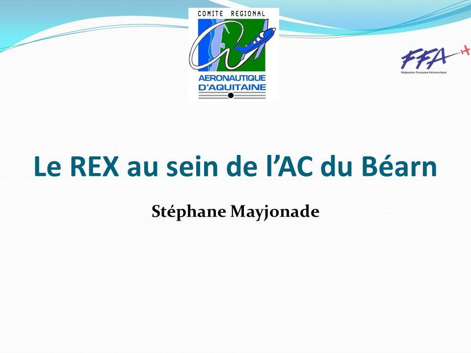 Le REX au sein de l'AC du Béarn Stéphane Mayjonade
