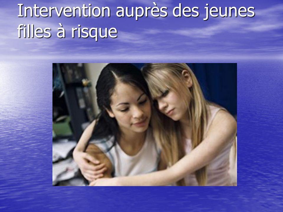 Intervention auprès des jeunes filles à risque