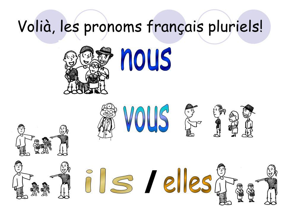 Volià, les pronoms français pluriels!
