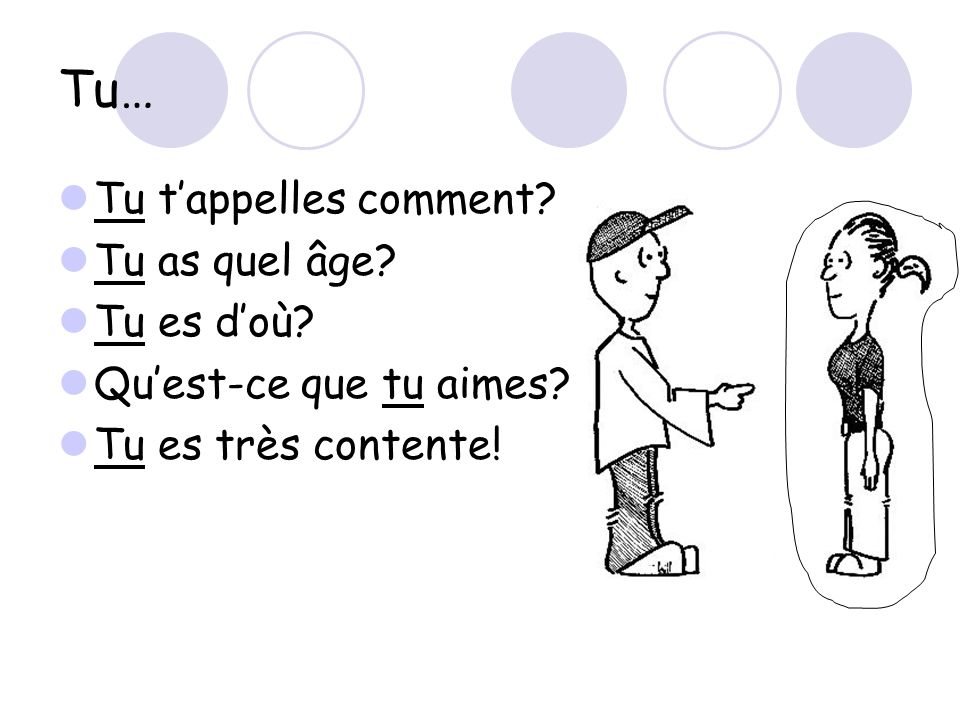 Les pronoms français singuliers about * Used to talk about one boy * Can be used to replace a boy's name * Can replace masculine nouns