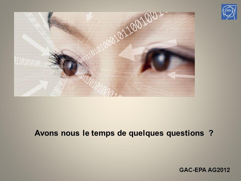 22 Avons nous le temps de quelques questions GAC-EPA AG2012