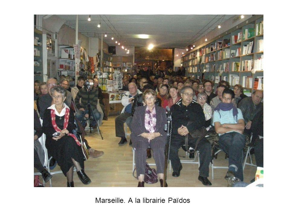 Marseille. A la librairie Païdos
