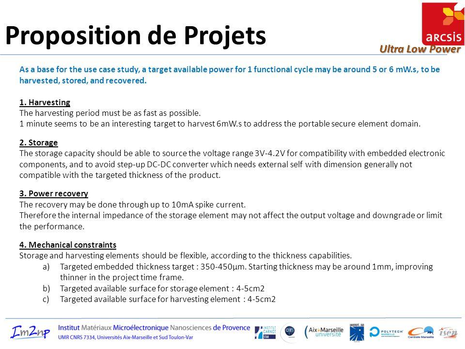 Ultra Low Power Organisation Projet Renseignez directement les champs en remplaçant les commentaires écrits en marron.
