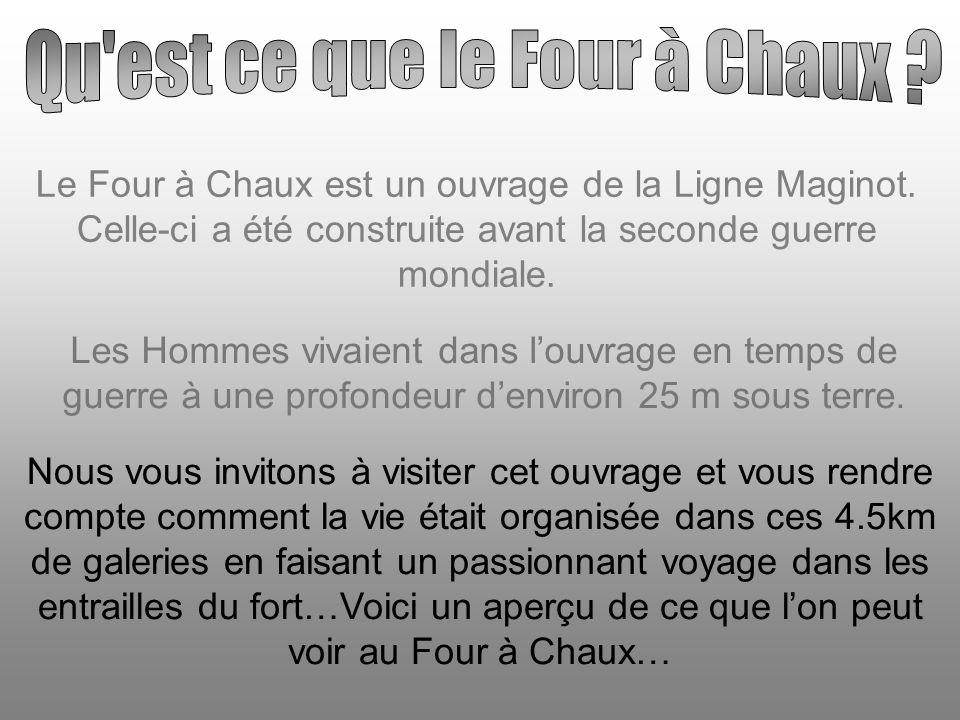 Le Four à Chaux est un ouvrage de la Ligne Maginot.