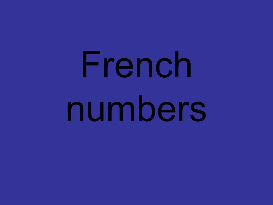 Combien? How many pens? Type French number word. There are
