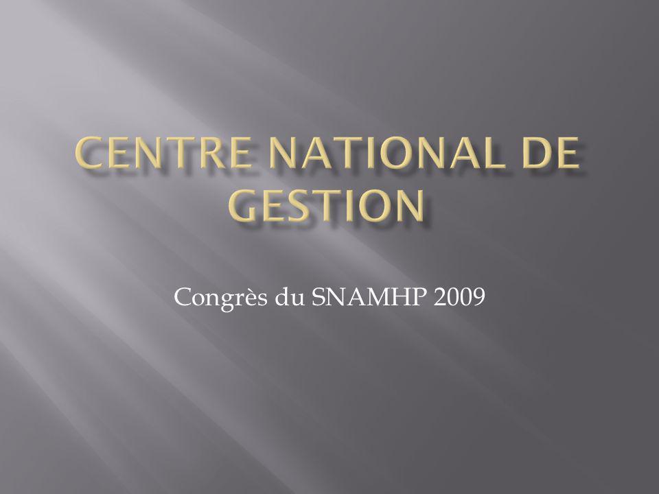 Congrès du SNAMHP 2009