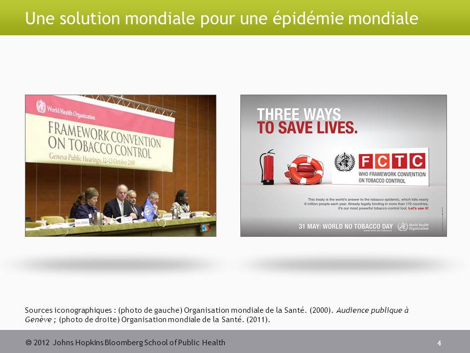  2012 Johns Hopkins Bloomberg School of Public Health Faire respecter les interdictions 15