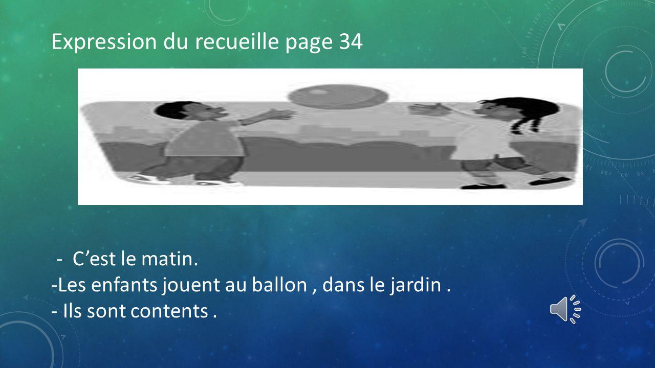 2. TOUT À COUP, ON SONNE À LA PORTE.