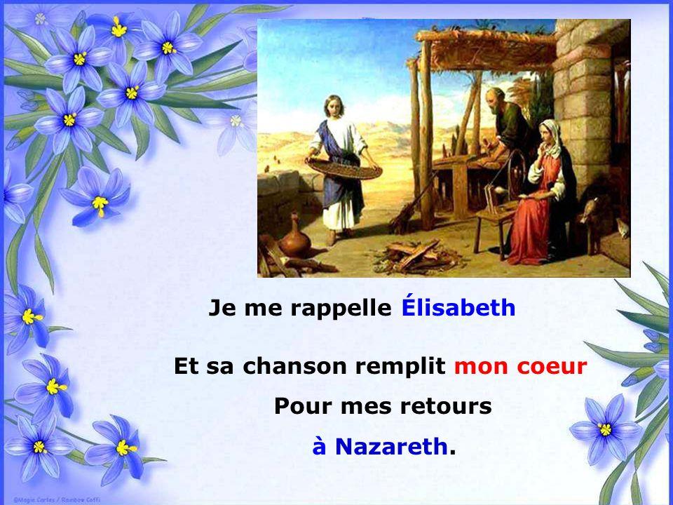 .. Et quand je pleure de bonheur, Marie, En recevant le Fils de Dieu