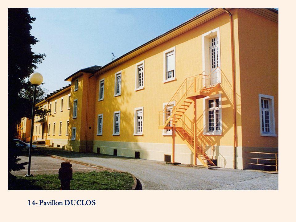 14- Pavillon DUCLOS