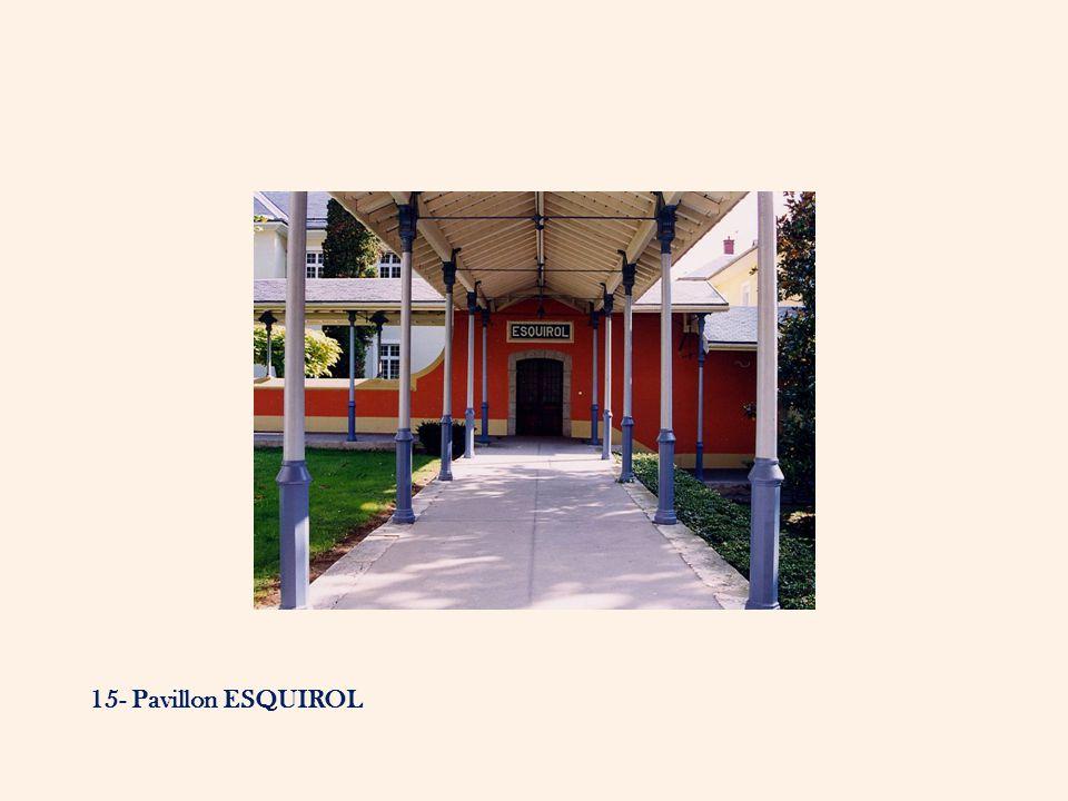 15- Pavillon ESQUIROL