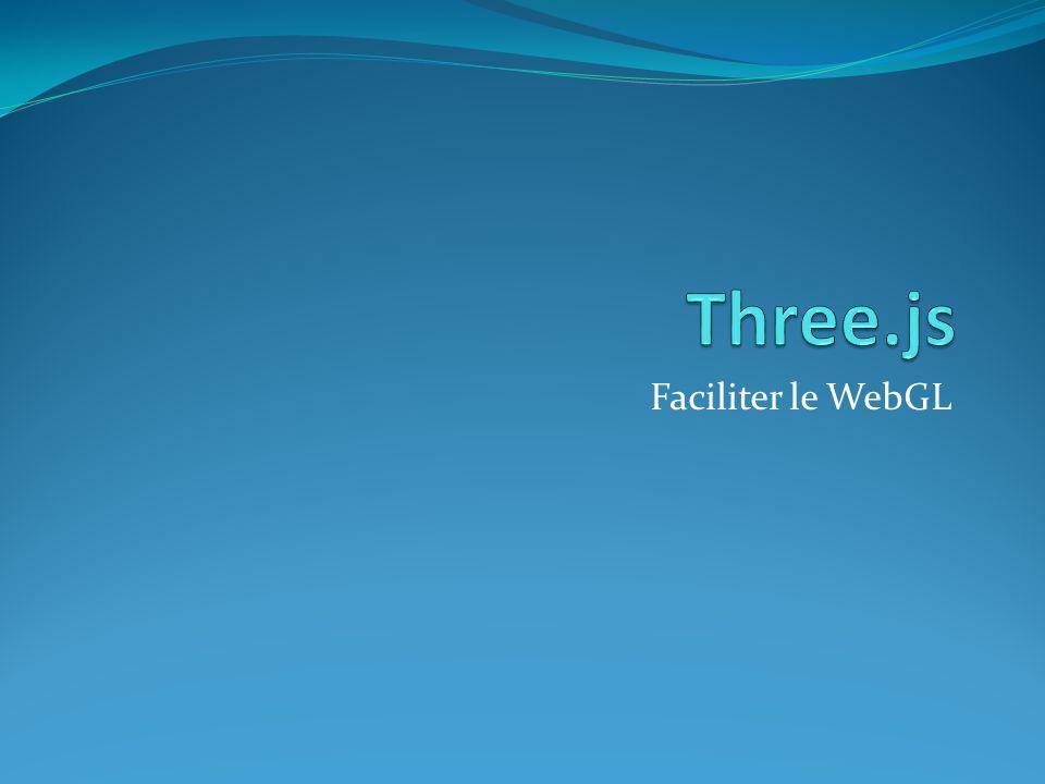 Faciliter le WebGL