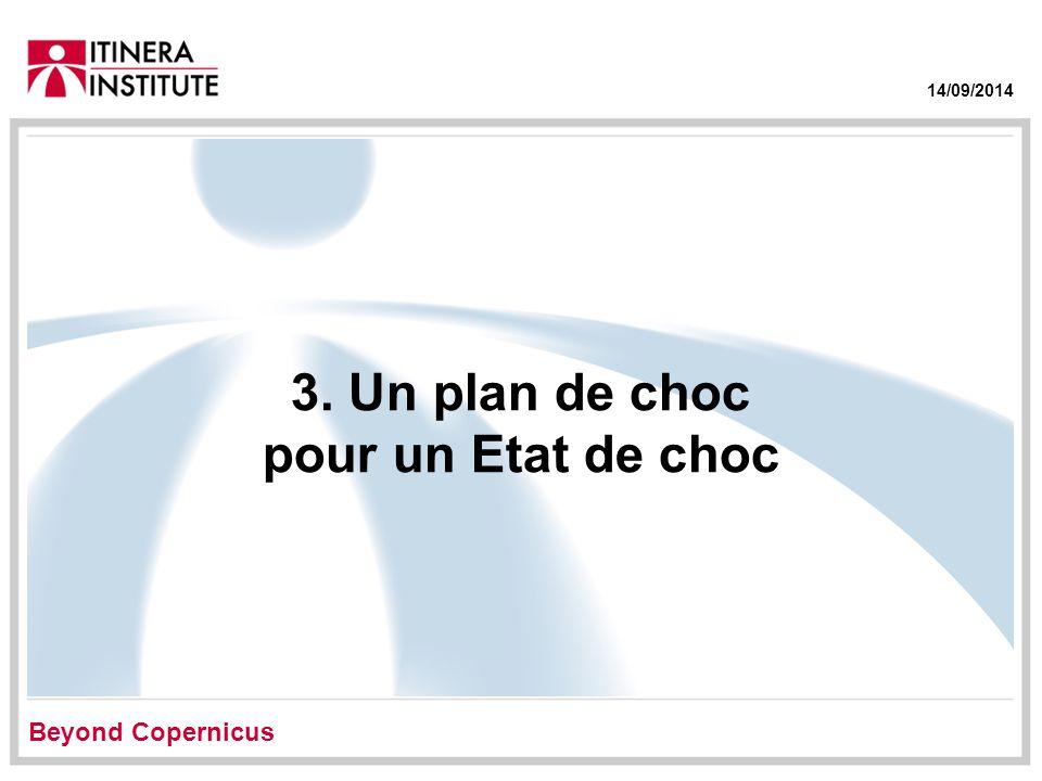 14/09/2014 3. Un plan de choc pour un Etat de choc Beyond Copernicus