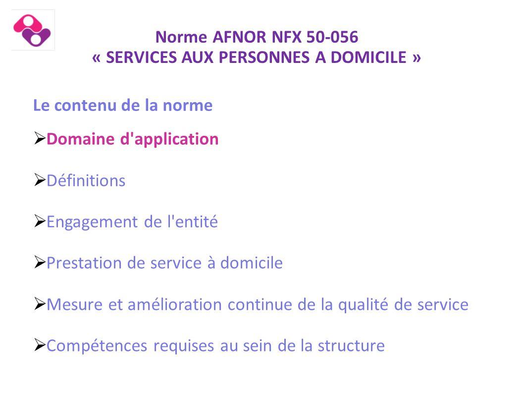 Norme AFNOR NFX 50-056 « Articulation avec le Label Adessa » Le Label Les outils Label  Adaptation de la boite à outils  Mise à disposition du réseau