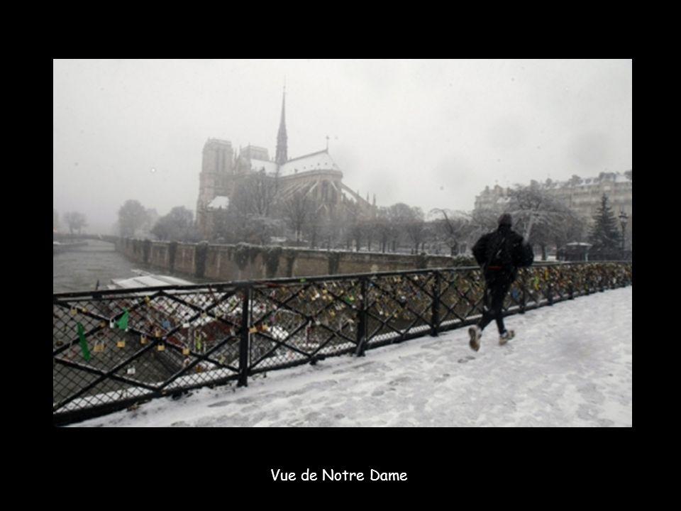 Vue du Sacré Coeur à Montmatre.