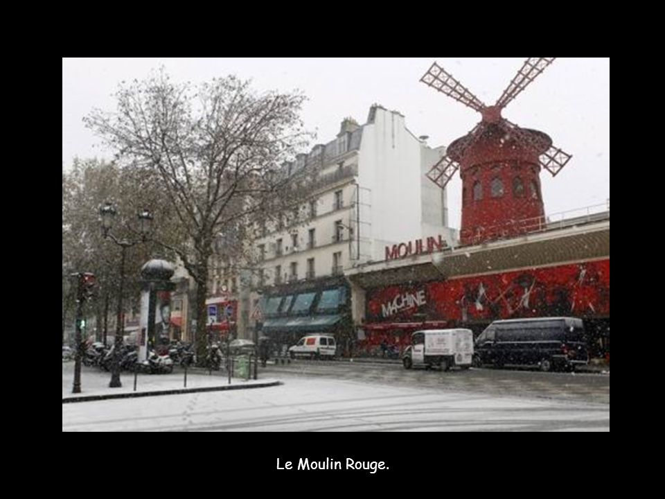 Les Tuileries le 4 décembre.