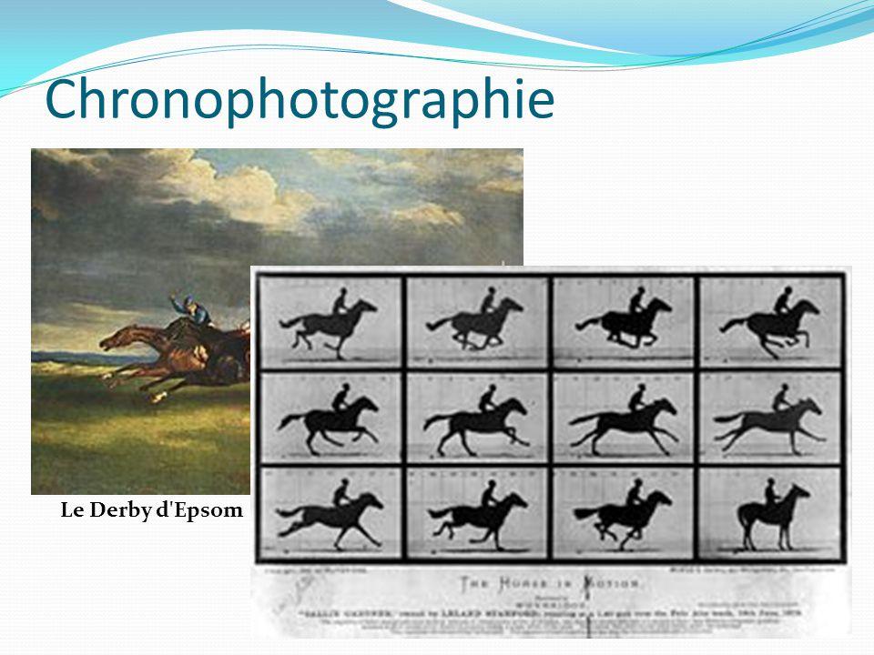 Chronophotographie Le Derby d'Epsom