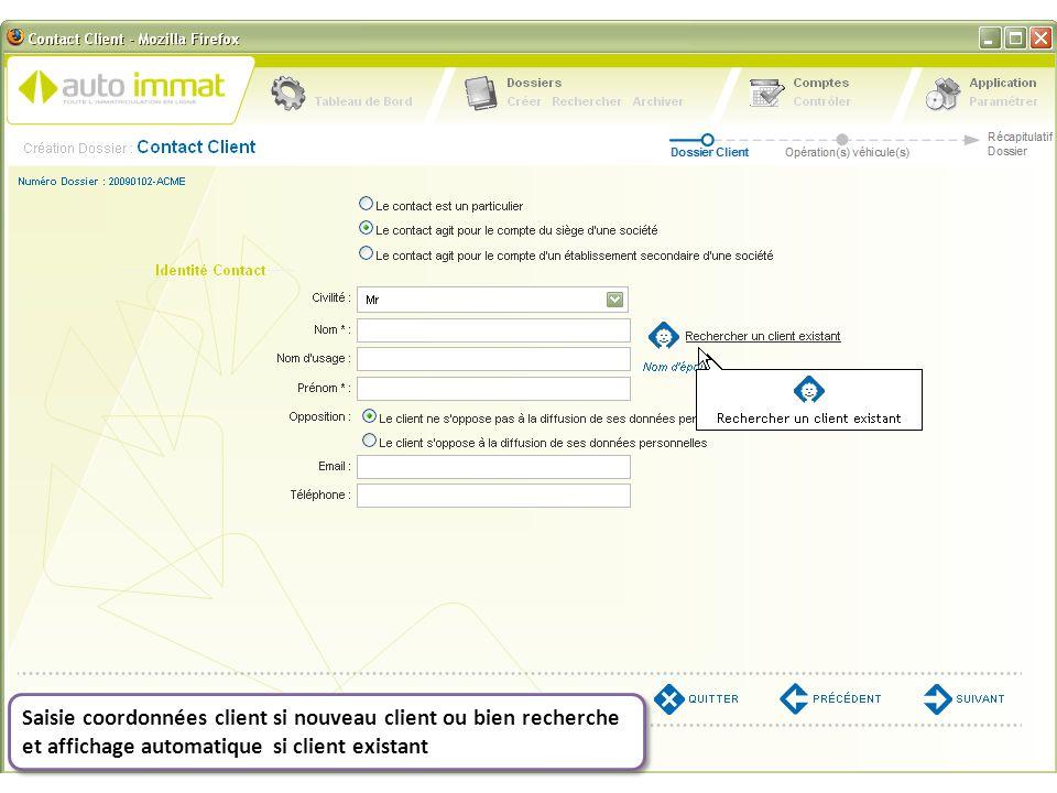 Importation possible, en option, de votre fichier clients à partir de votre DMS