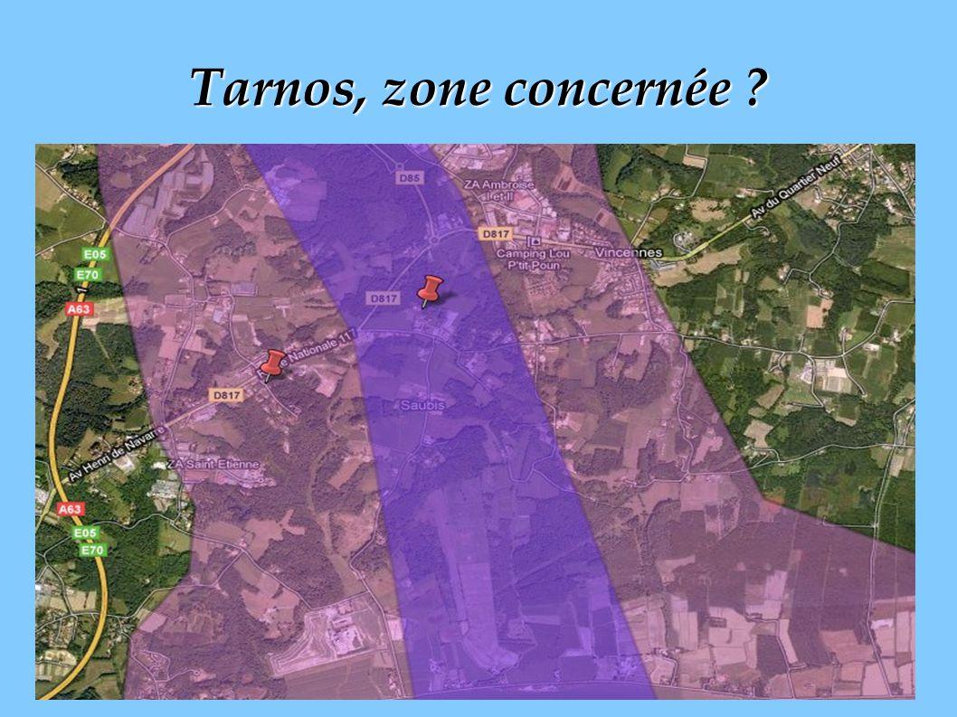 4 Tarnos, zone concernée ?