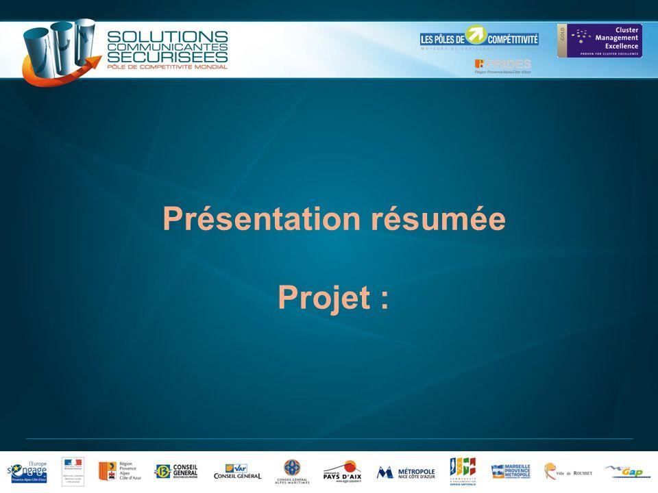 2 Introduction Cette présentation est remplie par le porteur du projet et ses partenaires.