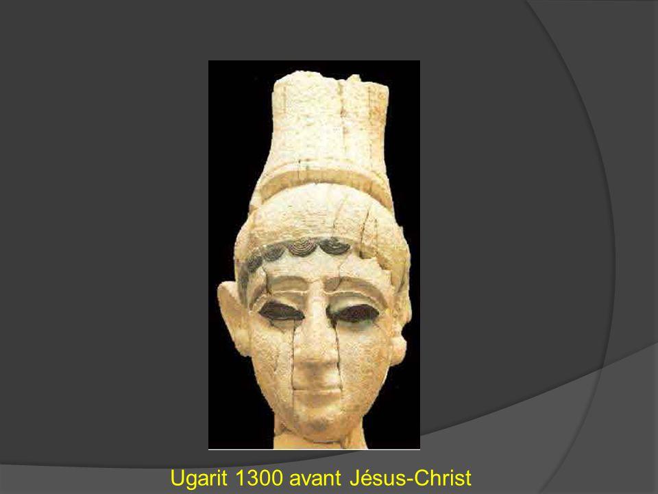 Ugarit 1300 avant Jésus-Christ