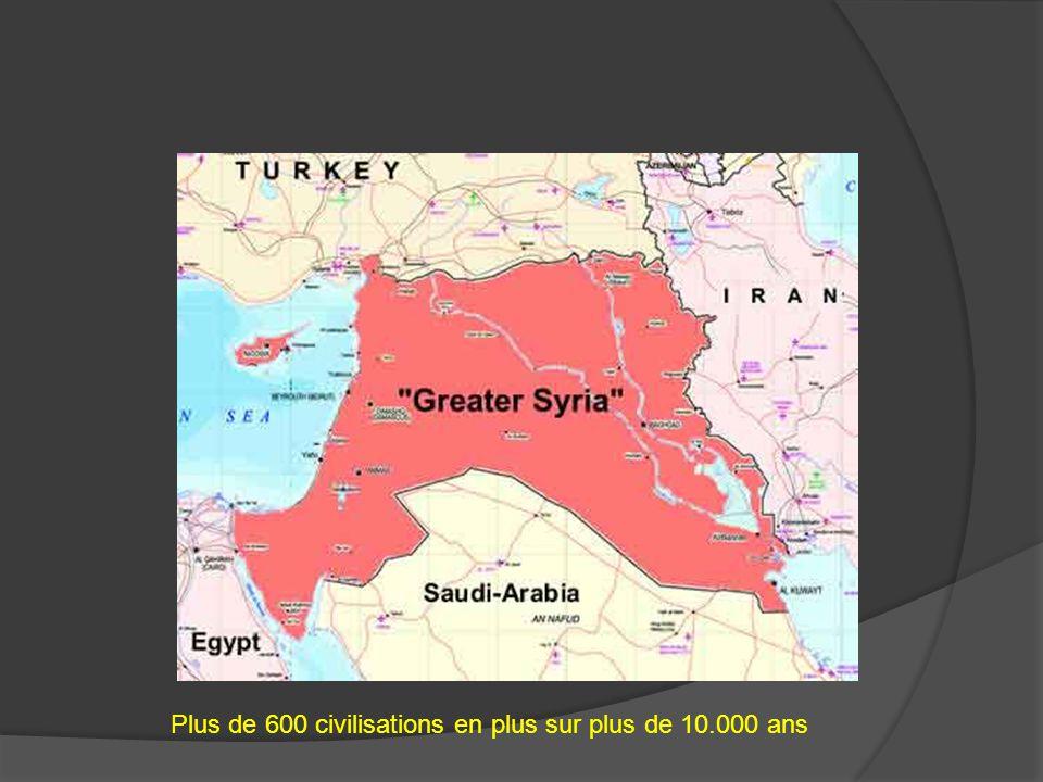 Plus de 600 civilisations en plus sur plus de 10.000 ans