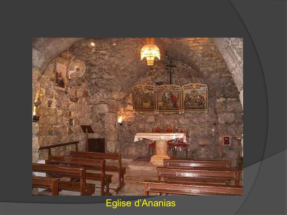 Eglise d'Ananias