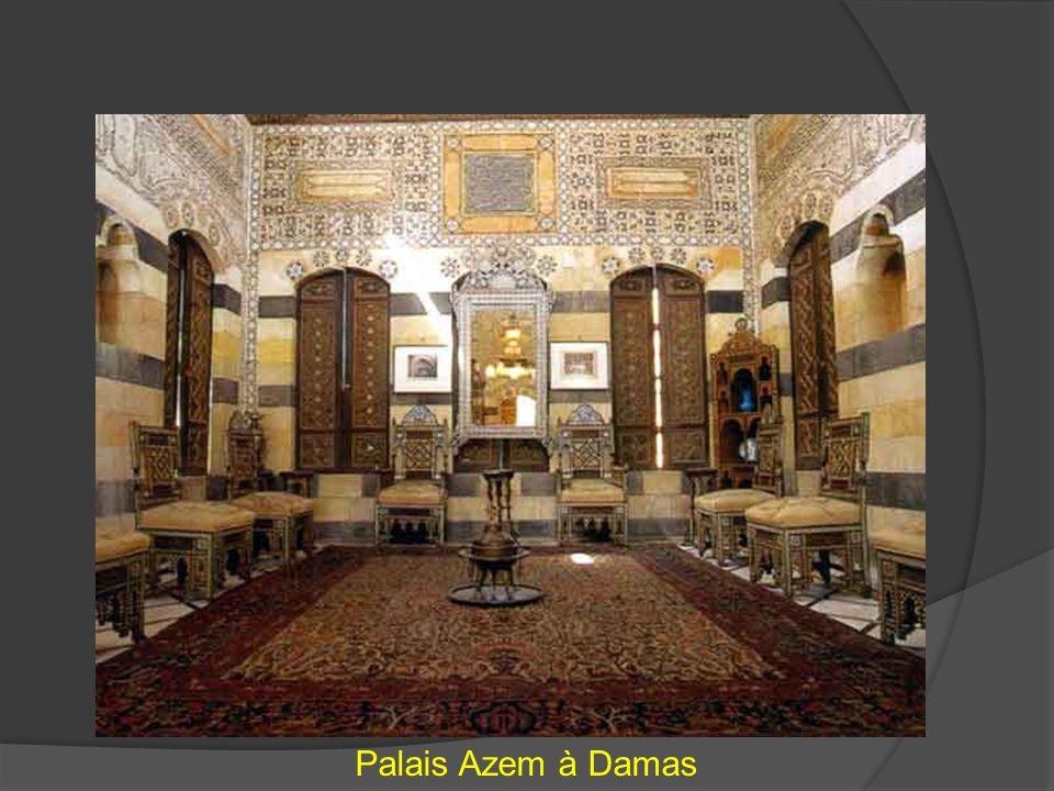 Palais Azem à Damas