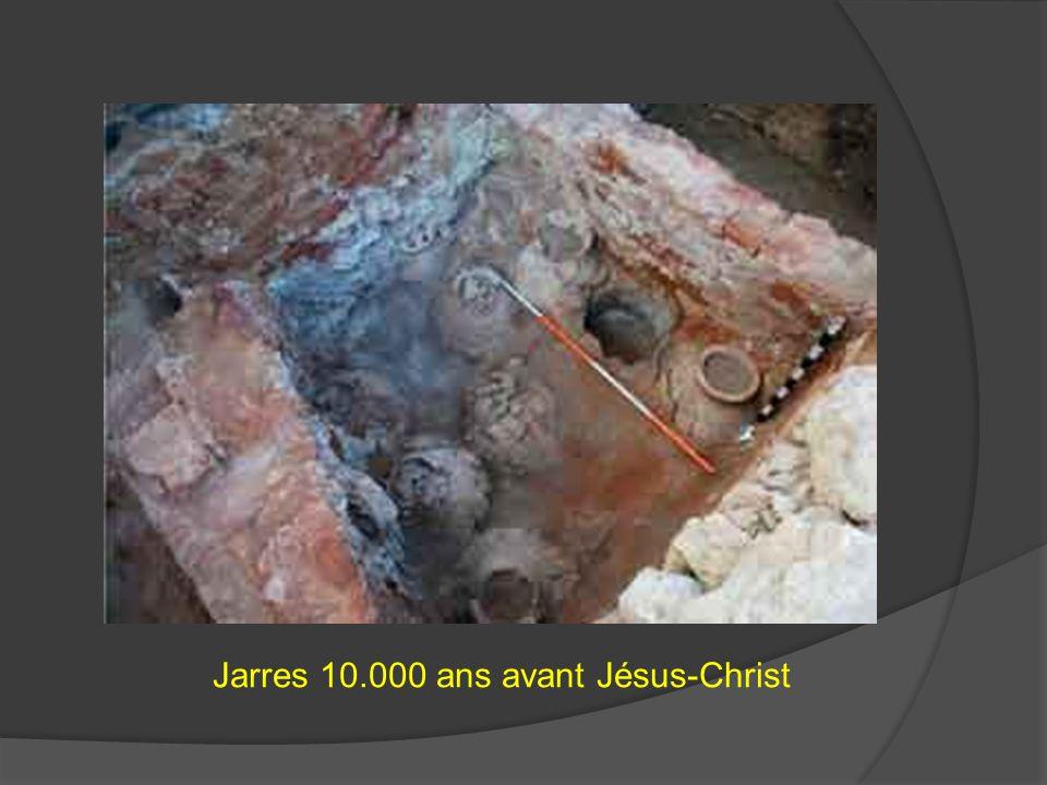 Jarres 10.000 ans avant Jésus-Christ