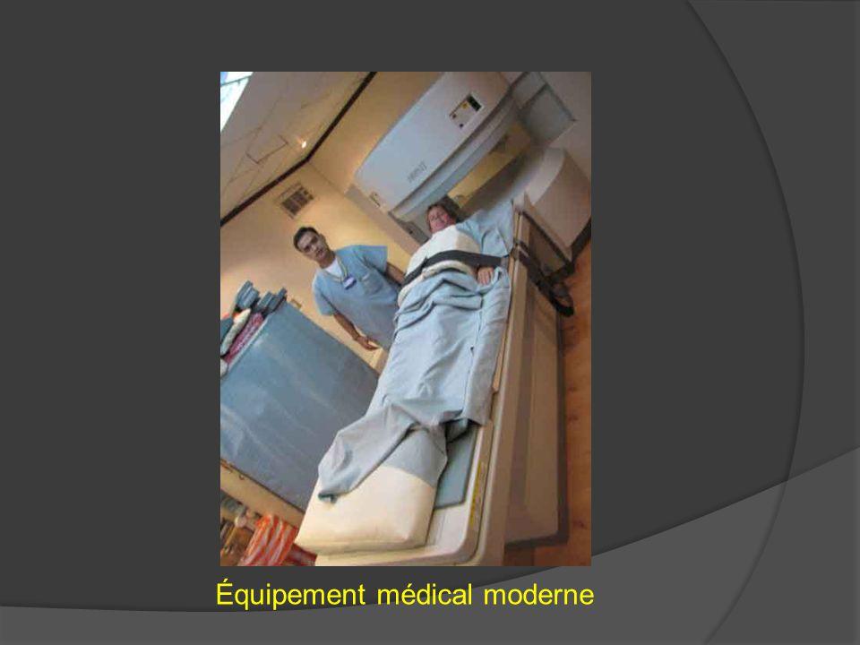 Équipement médical moderne