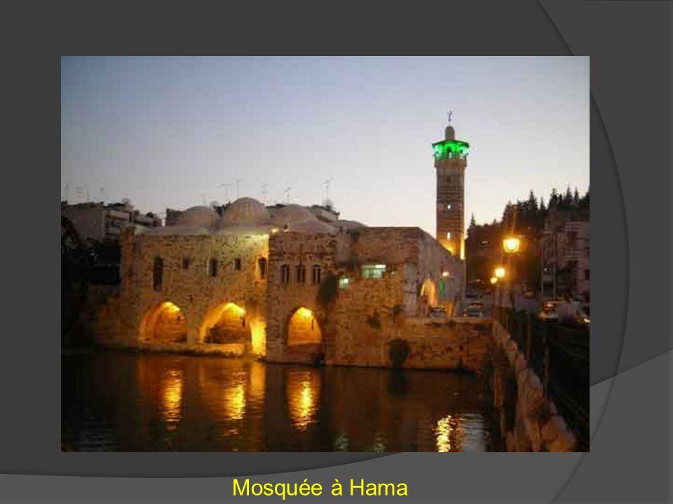 Mosquée à Hama