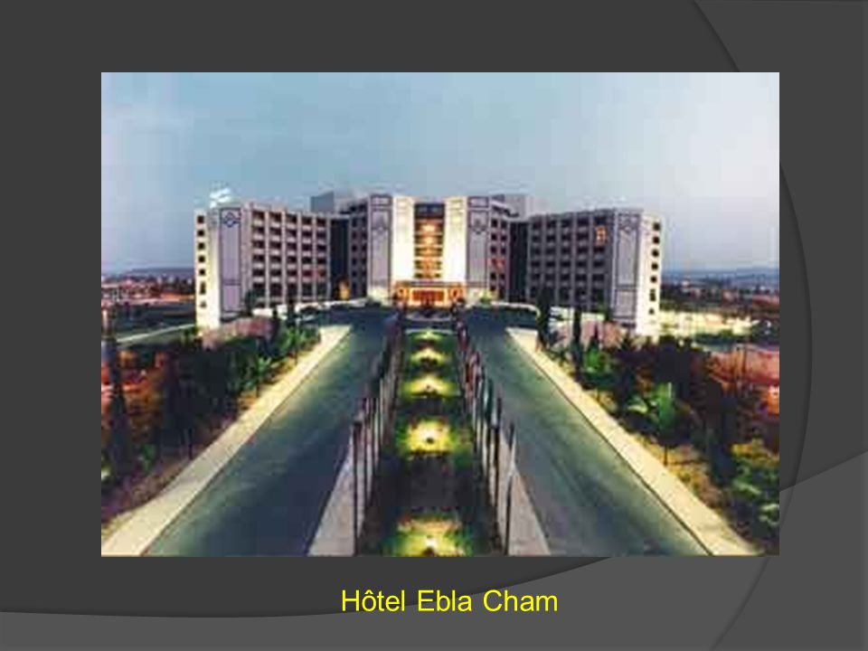 Hôtel Ebla Cham